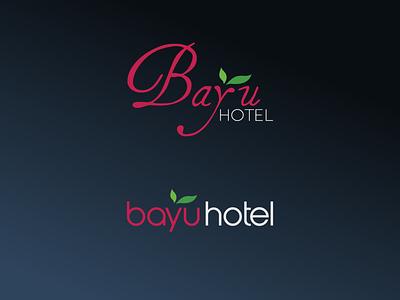 Bayu Hotel Logo 2x variations adobe illustrator cc illustrator vector illustration minimal logodesign