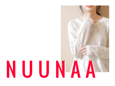 NUUNAA Fashion Website Concept Cover fashion ecommerce design adobe xd ux ui uidesign minimal