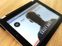 New Portfolio Site Live! (Designed for iPad)