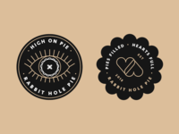 Rabbit Hole Pie - Sticker Assests