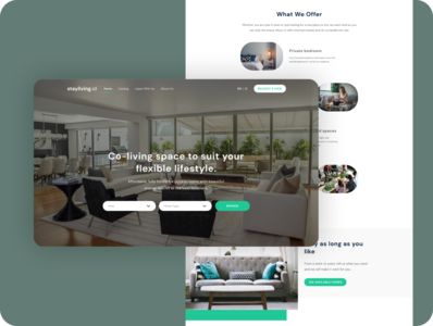 Stayliving.id Design Exploration