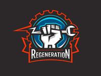 Regeneration logo design