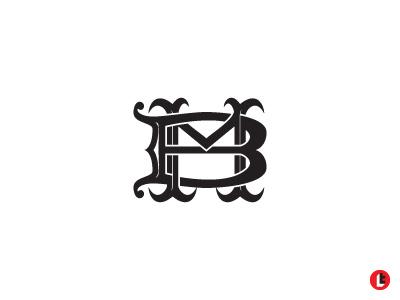 M+B history decorated decor classy royal monogram