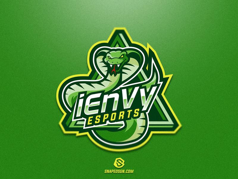 iEnVy E-Sports branding esports sports twitch sport esport gaming logo identity mascot
