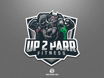 Up 2 Parr sports illustration design branding logotype sport esport gaming identity logo mascot