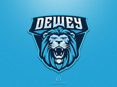 Dewey sports illustration design branding logotype sport esport gaming identity logo mascot