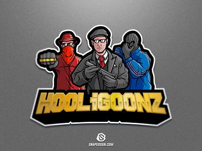 Hooligoonz sports illustration design branding logotype sport esport gaming identity logo mascot