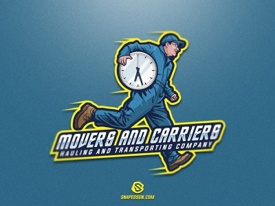 Movers And Carriers twitch sports illustration design branding logotype sport esport gaming identity logo mascot