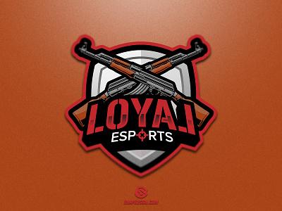 Loyal E-Sports twitch sports illustration design branding logotype sport esport gaming identity logo mascot