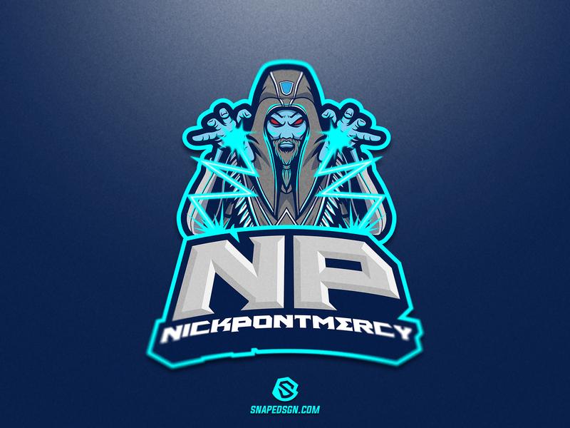 Nick Pontmercy esports twitch sports illustration design branding logotype sport esport gaming identity logo mascot