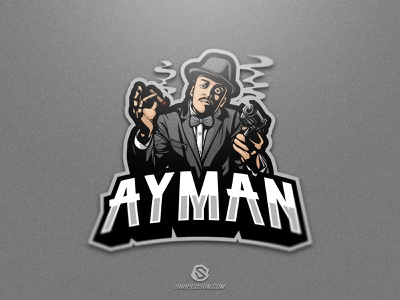 Ayman sports illustration design branding logotype sport esport gaming identity logo mascot