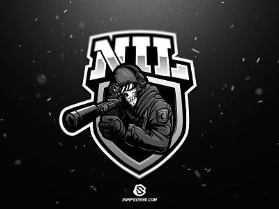 NIL sports illustration design branding logotype sport esport gaming identity logo mascot