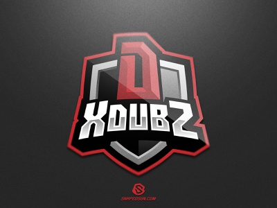 XdubZ twitch sports illustration design branding logotype sport esport gaming identity logo mascot