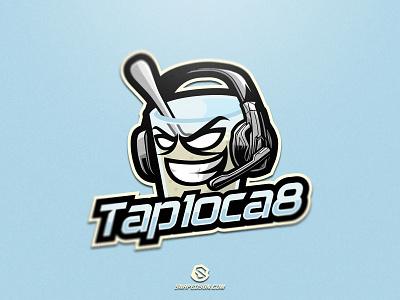 Tap1oca8 illustration design logotype sport esport gaming identity logo mascot