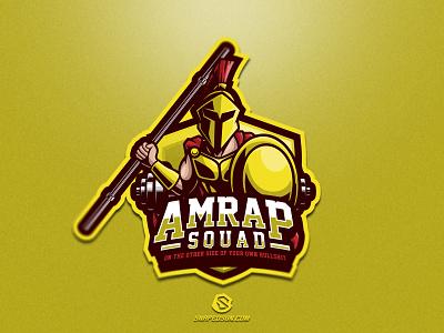 Amrap Squad illustration design logotype sport esport gaming identity logo mascot