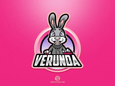 Verunda illustration design logotype sport esport gaming identity logo mascot