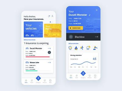 Insurance App website web typography sketch ios interface flat design concept branding art app uiux ux ui