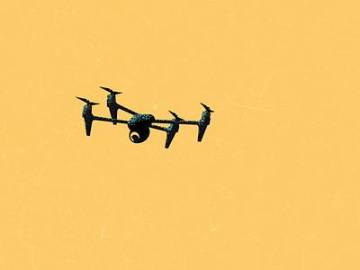 Intro animation - Drone drone animation principles animation illustration motion