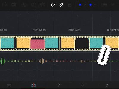 Intro animation - timeline