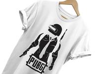 PUBG Printed T-Shirt Design
