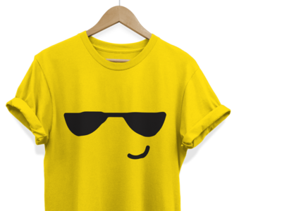 Emoji Printed Tees Design