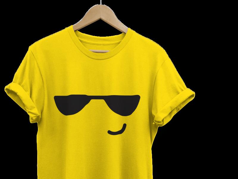 Emoji Printed Tees Design emoji printed tees emoji graphics design printed tshirt printed tees printed print tshirt tees