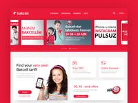Mobile provider web site