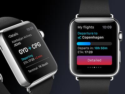 Flight tracking watch app app plane air info airport track flight watch apple