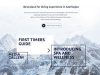 Ski winter website