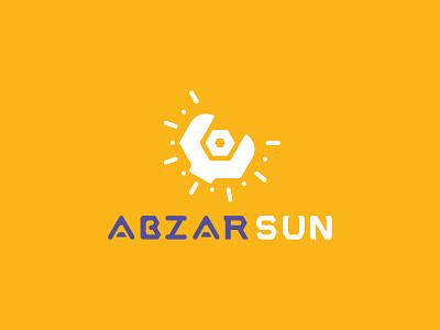 Abzarsun (EN) typography brand identity logotype artist typogaphy illustrator vector design branding logo