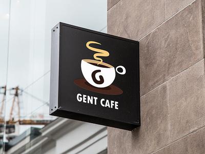 Gent Cafe branding logo cafe logo cafe