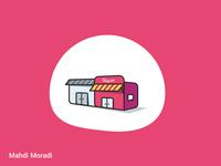 Shop - Vector illustration for Sepanta Clubs