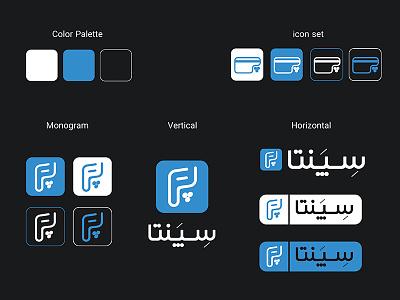 Sepanta Pay Brand identity typogaphy brand identity branding logotype logo