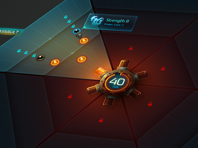 Amps wildstar mmo tech hex futuristic photoshop tooltip game ui space mechanical lock icon skill tree