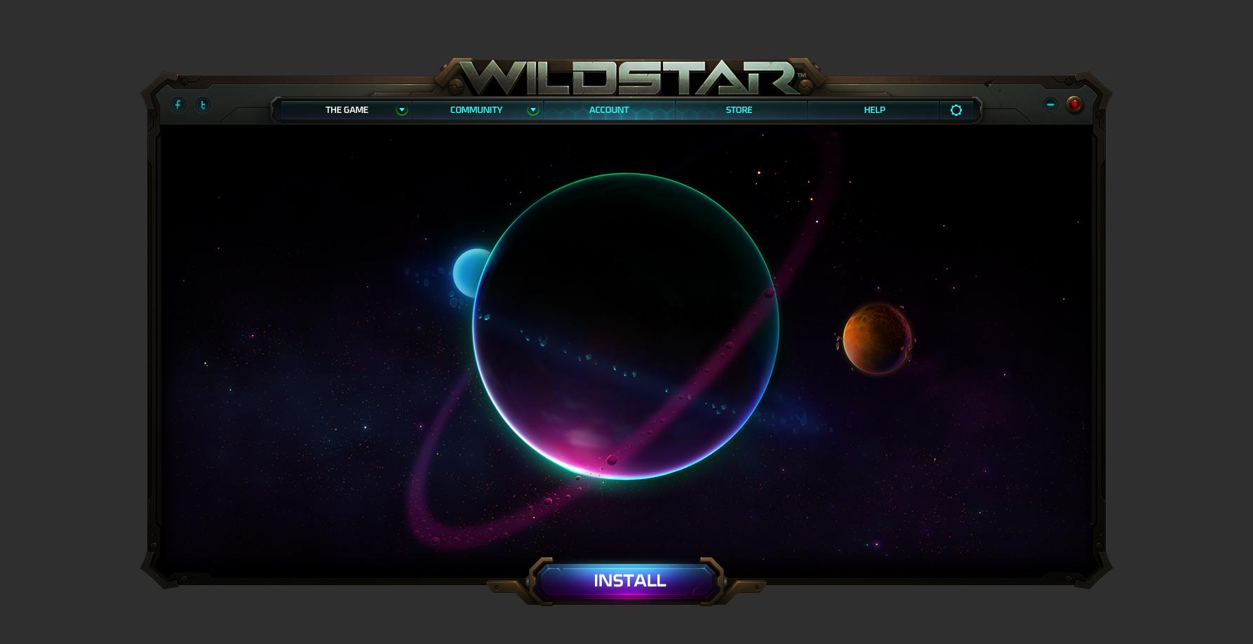 Wildstar launcher a