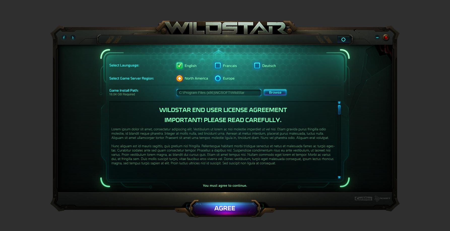 Wildstar launcher b