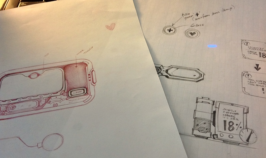 Sketches initialideas