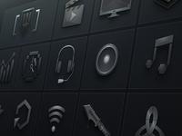 Options Menu Icons