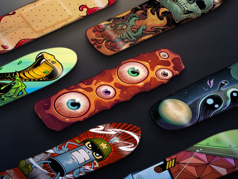 Call of Duty Skateboard Calling Cards skateboard cards call of duty