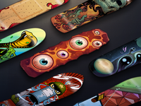 Call of Duty Skateboard Calling Cards