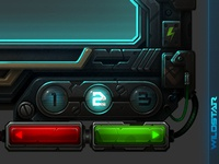 Wildstar Demo UI Frame