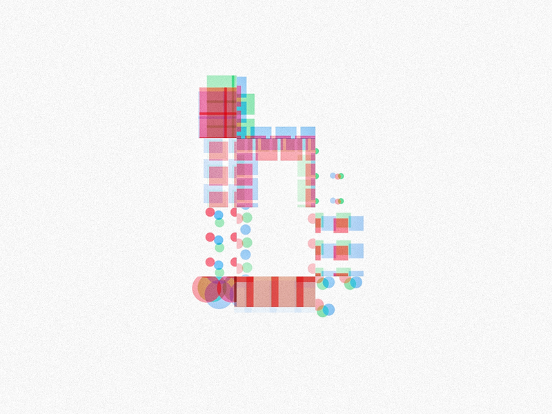 Procedural lowercase `b` generative design generative art generative font 36daysoftype-b typography type art processing parametric illustration design affinity design 36 days of type lettering 36daysoftype 36days-6