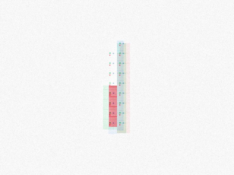 Procedural number `1` font susankare generativedesign generativeart generative procedural parametricdesign parametric processing vector typism designinspiration typeyeah type typedesign typography 36days-1 36daysoftype 36daysoftype06