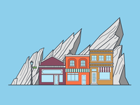 Boulder Illustration