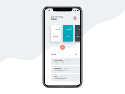 Budget Tracker App Concept