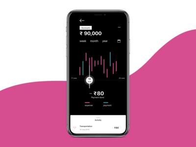 Budget Tracker App Concept #2