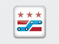 DC MetroMaster Phone App Icon