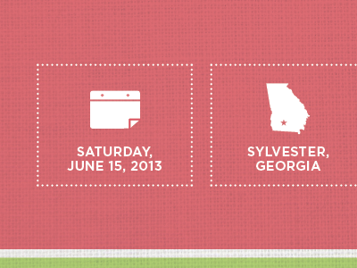 Save The Date wedding texture save the date icons dots boxes
