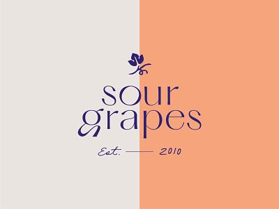 Sour Grapes Unused Concept peach