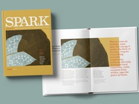 Spark Magazine Cover + Selected Spread